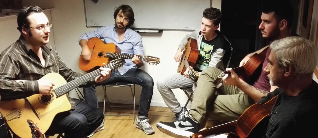 Formation amateur cours de guitare