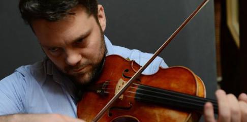 Johan Renard professeur de violon à la Swing Romane Académie