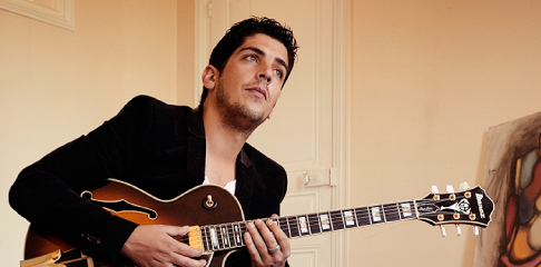 Richard Manetti professeur de guitare swing jazz/bebop