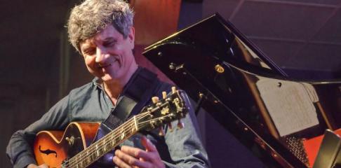 Serge Merlaud professeur de guitare jazz bebop